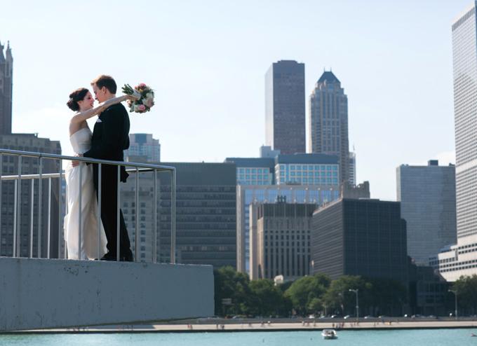 Chic Chicago Wedding