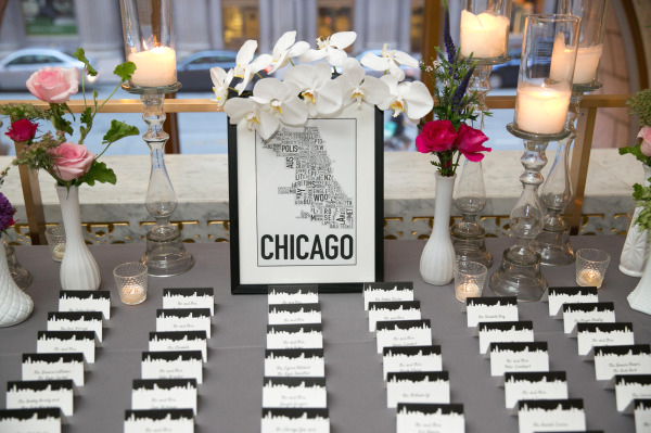 Chicago Place Cards
