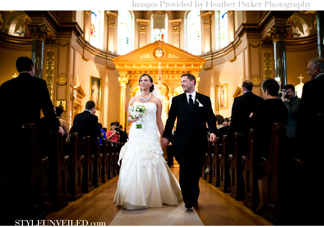 Chicago Wedding / Heather Parker Photography / www.STYLEUNVEILED.com