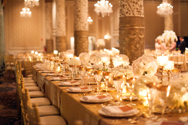 Reception Head Table