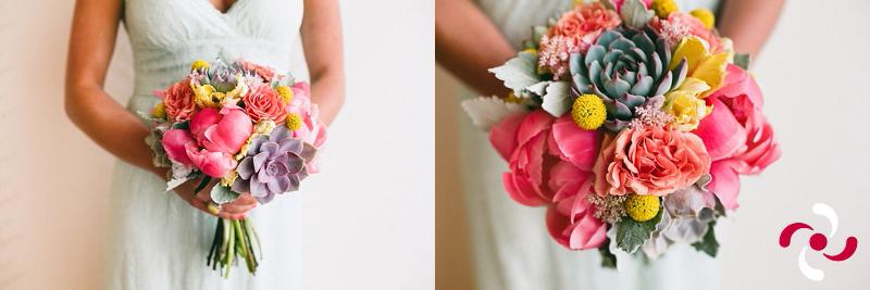 Colorful Bridesmaid's Bouquet