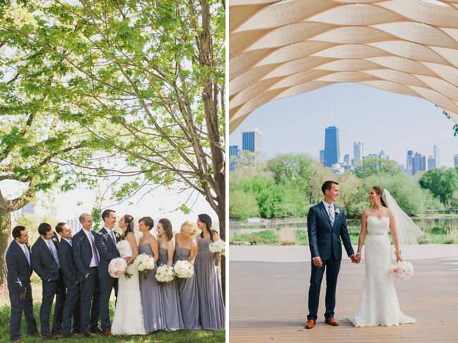 Lincoln Park Bridal Party