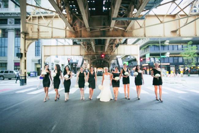 Kate and Bridesmaids