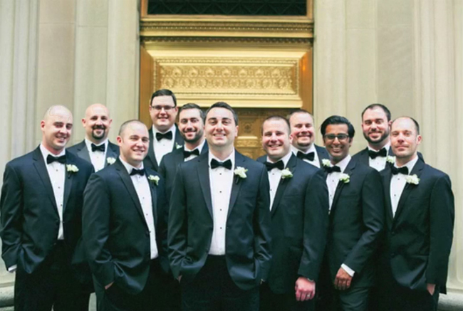 Jimmy and Groomsmen