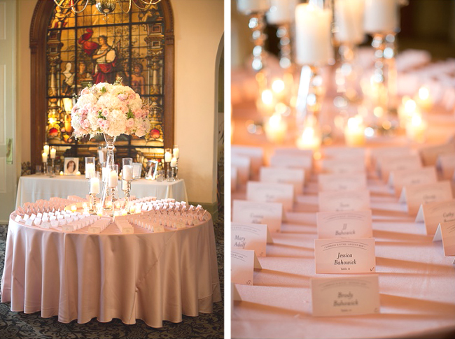 Reception Seating Table