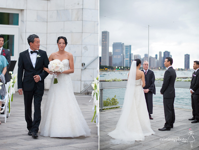 Chicago Skyline Wedding