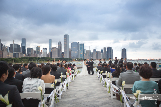City Lakeshore Wedding