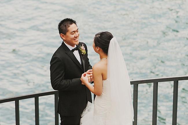 Lakeshore Bride and Groom
