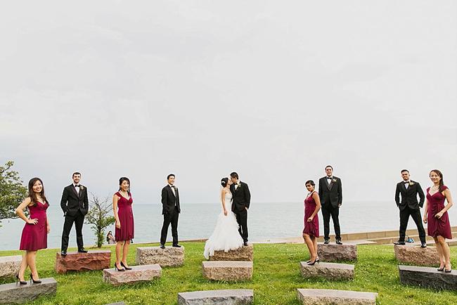 Lake Shore Wedding Party