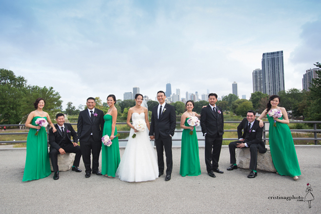 Chicago Wedding Party