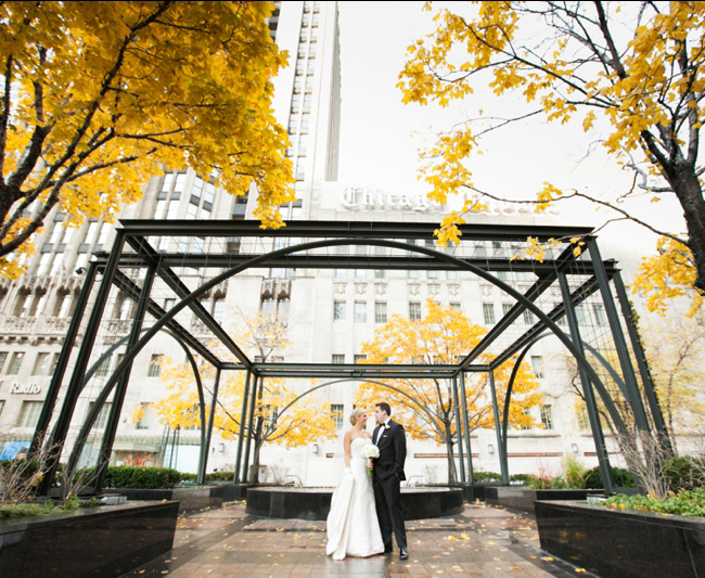 Autumn Wedding in Chicago